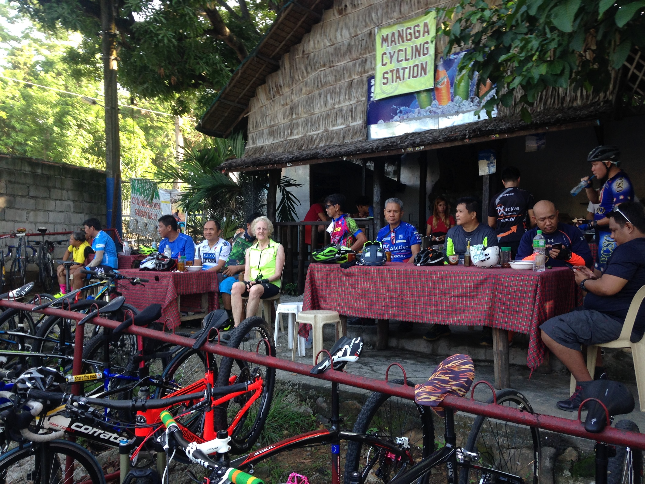 Manga Cycling Station Sumulong