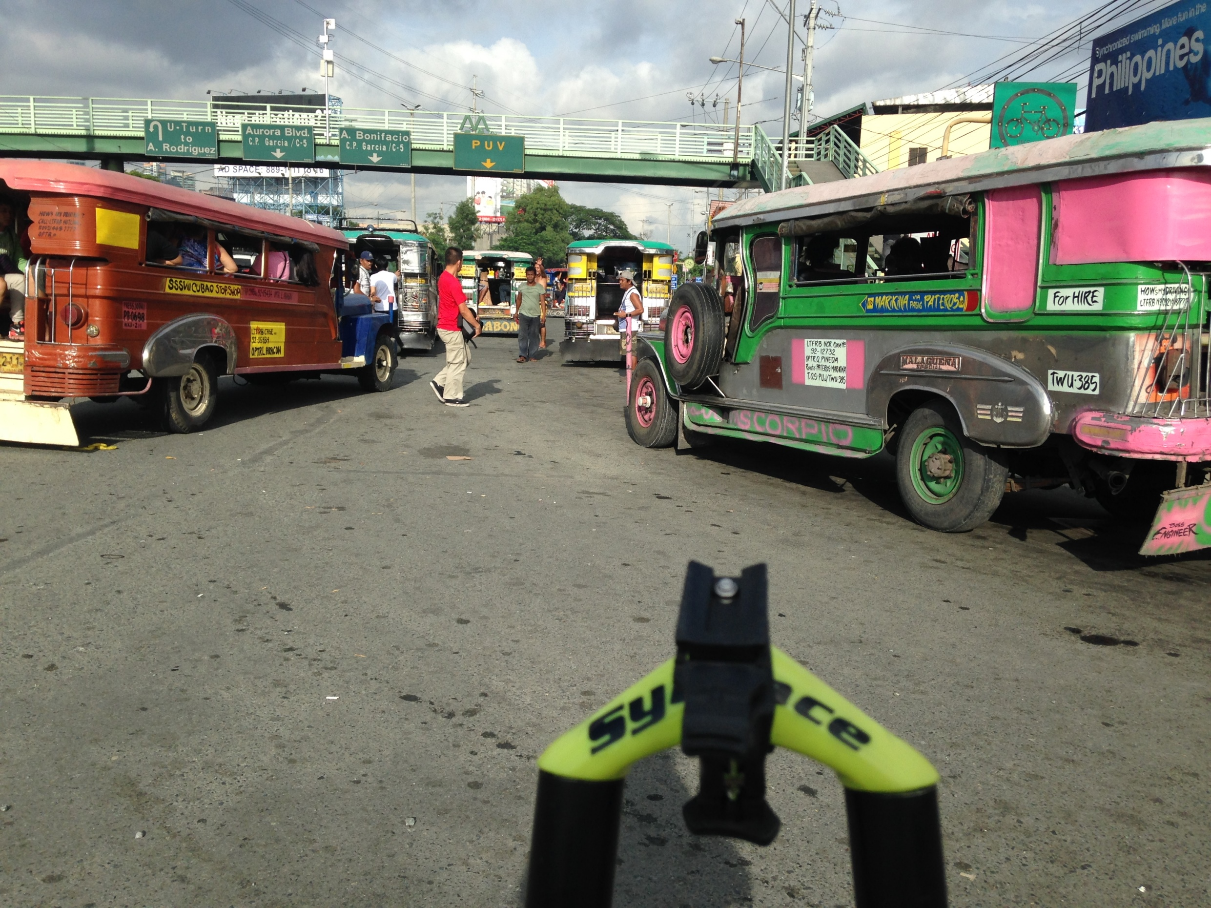 Marcos Highway jeepneys