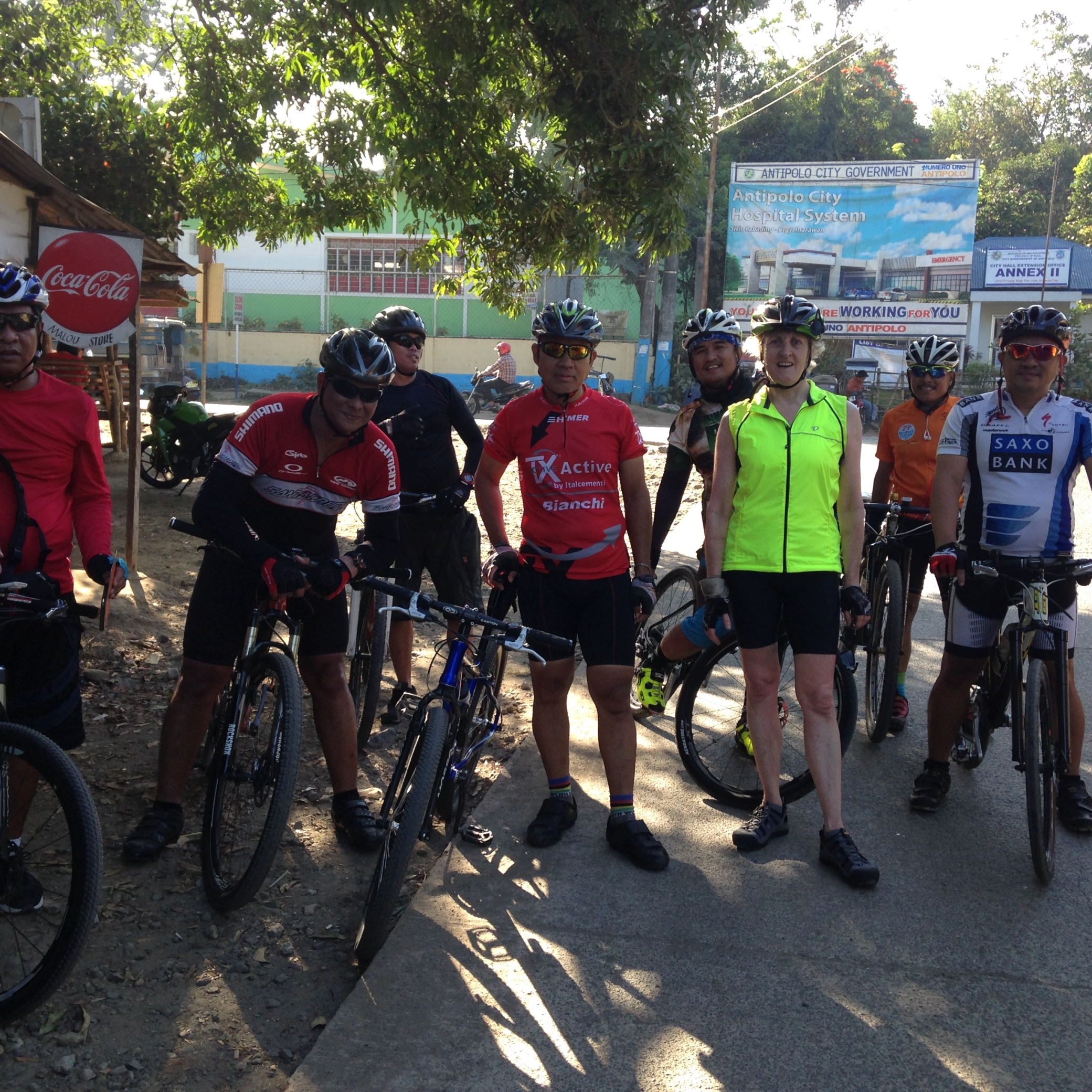 Roman Rojas Road, biking buddies